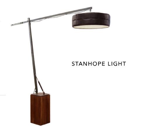 Stanhope floor lamp on if it's hip, it's here