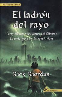 Reseña de Percy Jackson y el ladrón del rayo