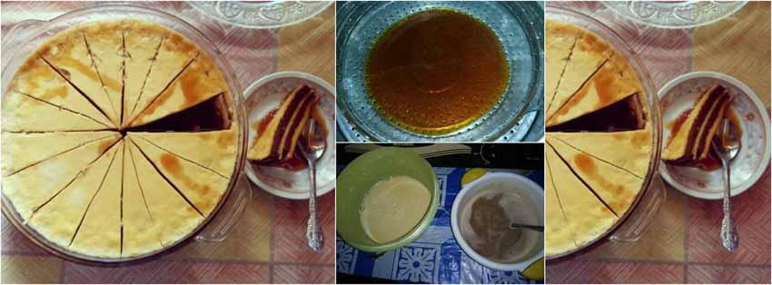 Resep Membuat Puding Custard Lapis Coklat by Suhartini Bachrie