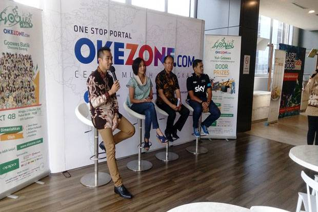 Serunya Fun Bike Gowes Batik Bersama Okezone dan JKT48