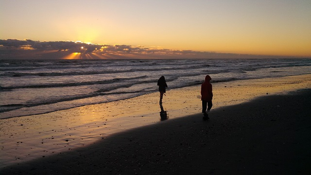 January on South Padre Island is a gamble. Some days it's warm enough to swim; other days are better suited to bundling up for an early morning stroll on the beach.