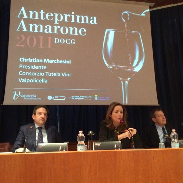 Anteprima Amarone 2011 DOCG with Christian Marchesini