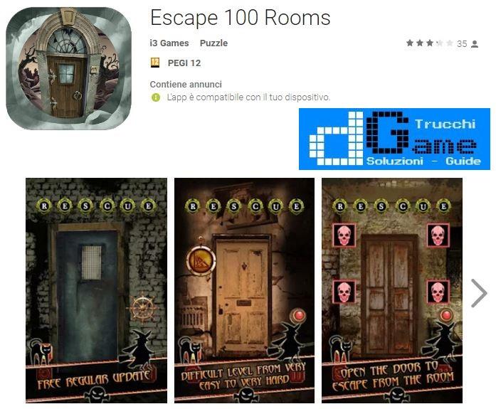 Soluzioni Escape 100 Rooms livello 51 52 53 54 55 56 57 58 59 60 | Trucchi e Walkthrough level