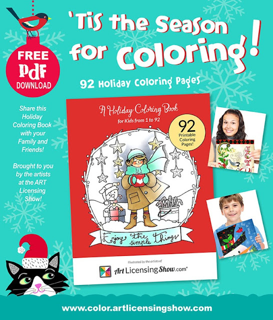 Free Christmas Themed Colouring