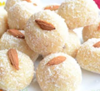 Nariyal laddu recipe