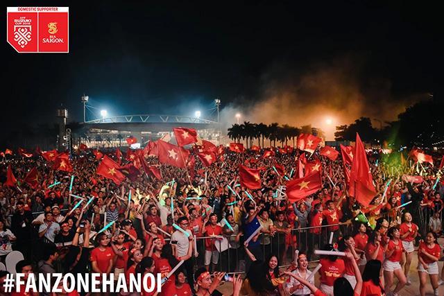 5 địa điểm xem chung kết AFF Cup 2018 trên màn hình lớn
