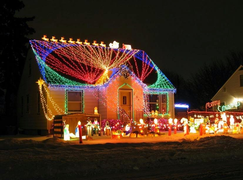 Merry Christmas 2015 Outdoor Light Decoration Images Google Plus