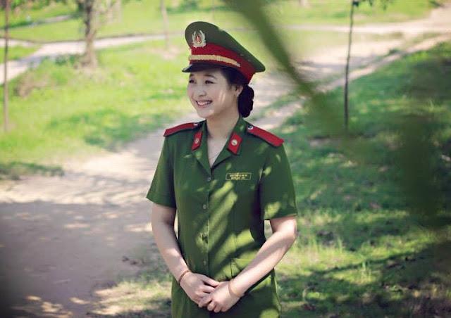 3 245234 - Tổng Hợp các HOT Girl Nữ Cảnh Sát đốn tim FAN nhất Việt Nam