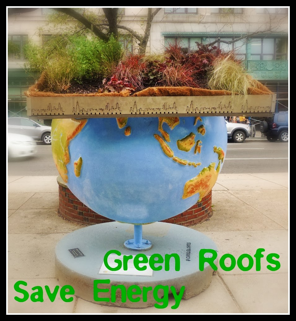The Cool Globes en Boston: Green Roofs Save Energy