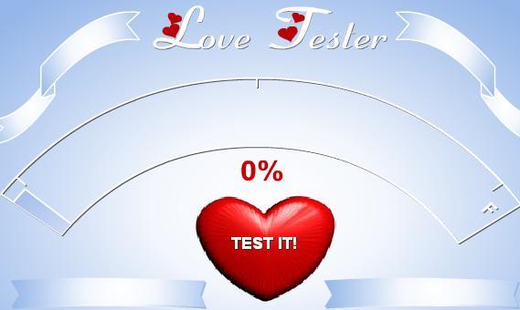 Permainan Love Tester 2