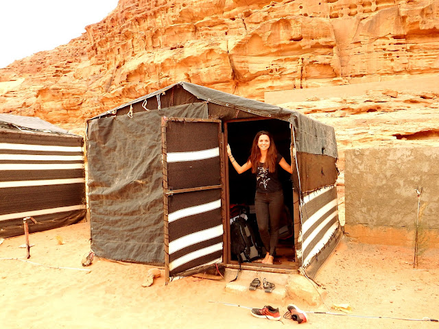 dormir wadi rum jordania
