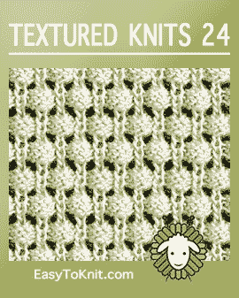 Easy To Knit: Textured-knitting 24