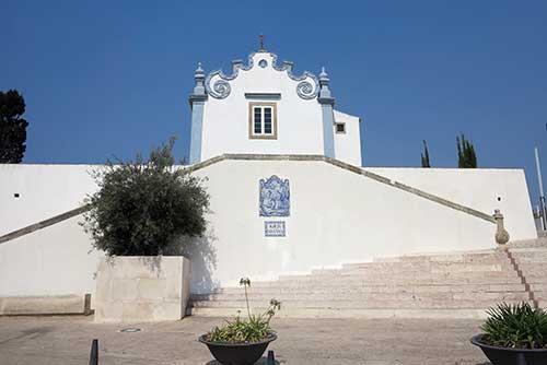 Igreja Santana Albufeira, Algarve, Portugal.