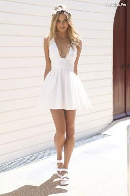 Vestidos de verano con sandalias