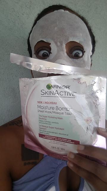 Garnier SkinActive Moisture Bomb Sheet Mask - www.modenmakeup.com