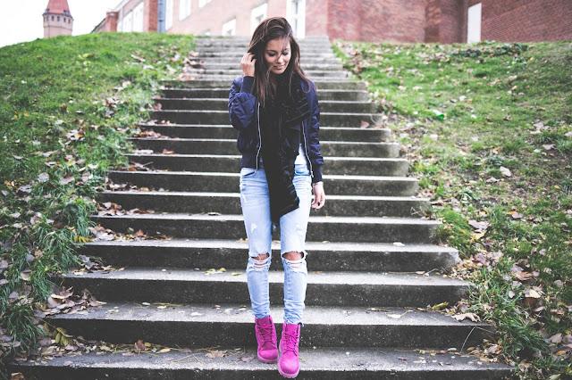 Pink Timberland - Czytaj więcej