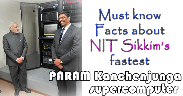 PARAM Kanchenjunga supercomputer at NIT Sikkim