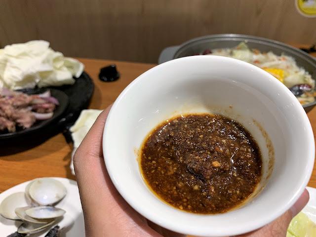 原石鍋特製醬料