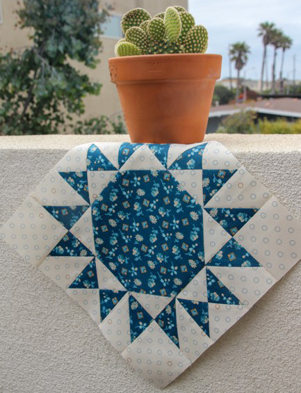 Patches of Blue Quilt Free Tutorial