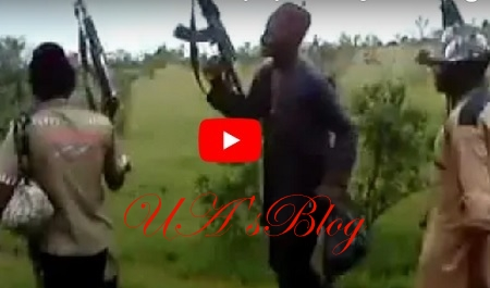 "Terrible Indeed!!PLATEAU KILLINGS: Watch SHOCKING Video OF Armed 'Fulani Terrorists' Joyfully Shouting ""Sai Buhari"""