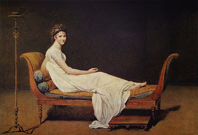 Madame Récamier by Jacques-Louis David, 1800