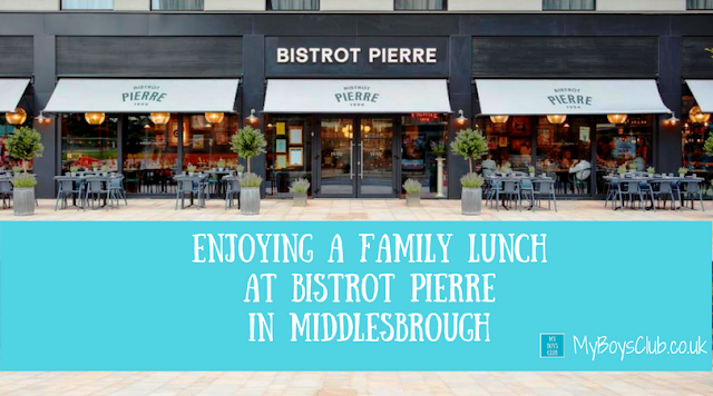 Enjoying a Family Meal at Bistrot Pierre in Middlesbrough