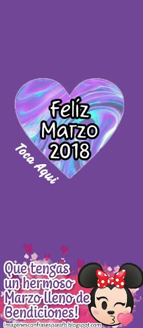 Feliz Comienzo del Mes Marzo 2018