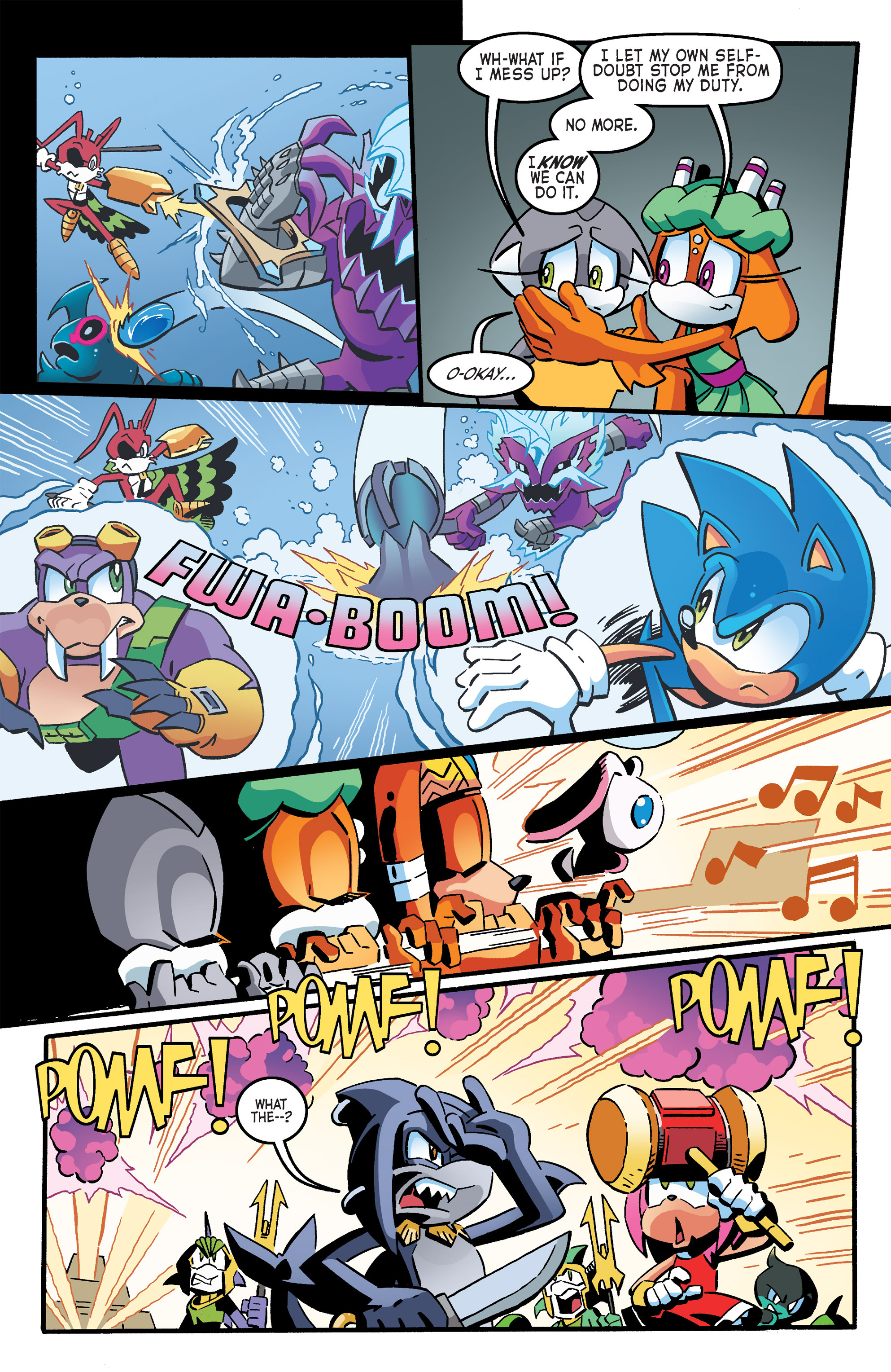 Read online Sonic The Hedgehog comic -  Issue #263 - 11