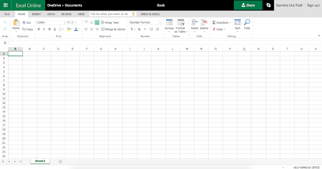 Excel Microsoft Office Online