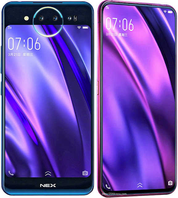 Vivo NEX Dual Display Purple Colour