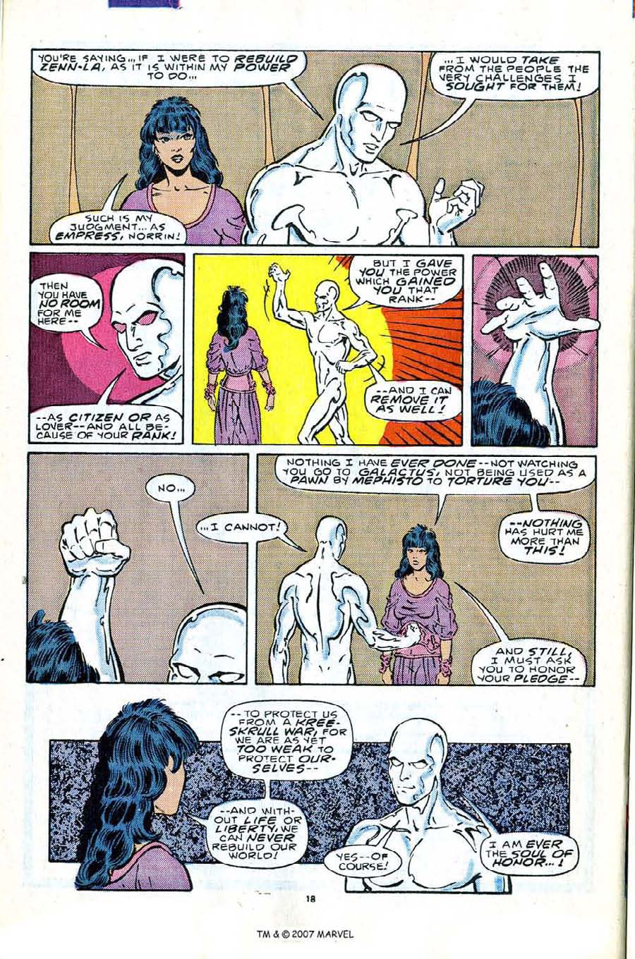 Read online Silver Surfer (1987) comic -  Issue #2 - 26