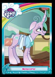 My Little Pony Mistmane Series 5 Trading Card