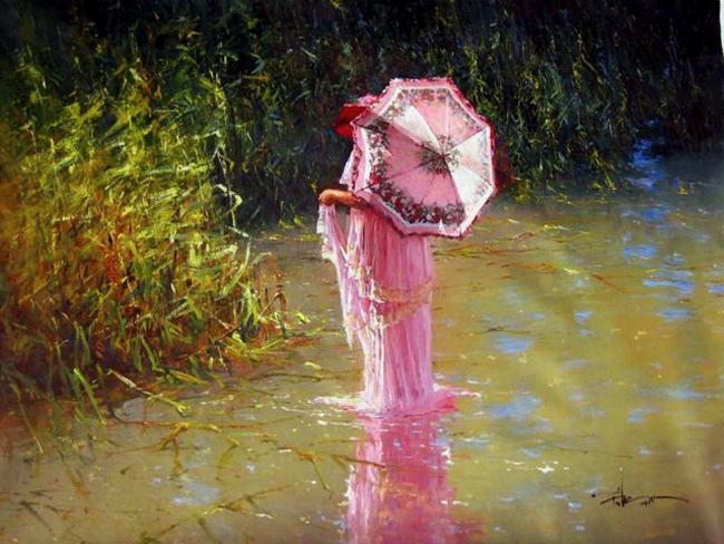 Robert Hagan 1947 | Australian Plein-air Impressionist painter