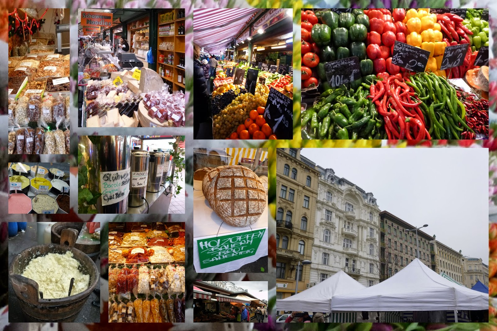 Best food market in Austria: Naschmarkt in Vienna