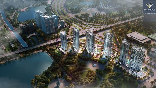 Ý tưởng thiết kế dự án D' Capitale Trần Duy Hưng
