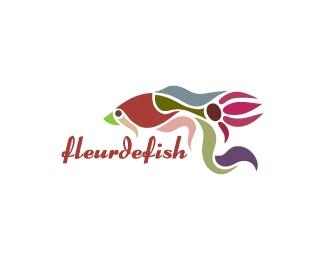 Logotipo inspirado en un pez