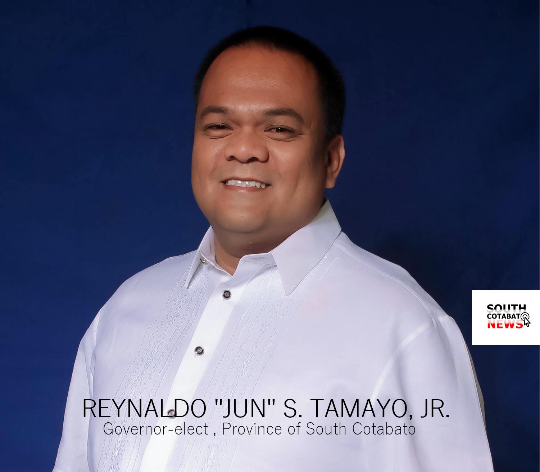 South Cotabato Governor-elect Reynaldo Tamayo Jr.