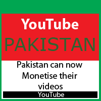 Youtube Monetization in Pakistan Open Now | My Blogger Tools