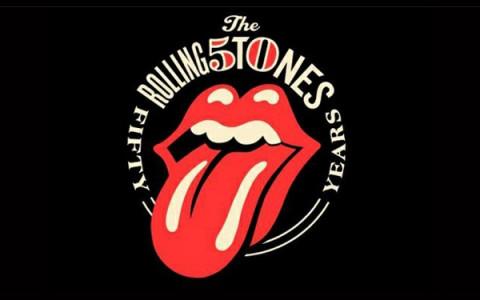 Logo Rolling Stones 50 aniversario