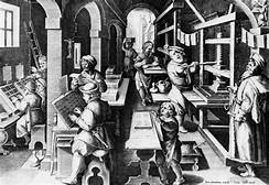 A printer's workshop