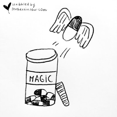 The Facts about Coeliac Disease and a Gluten Free Diet Cartoon - Magic Pills