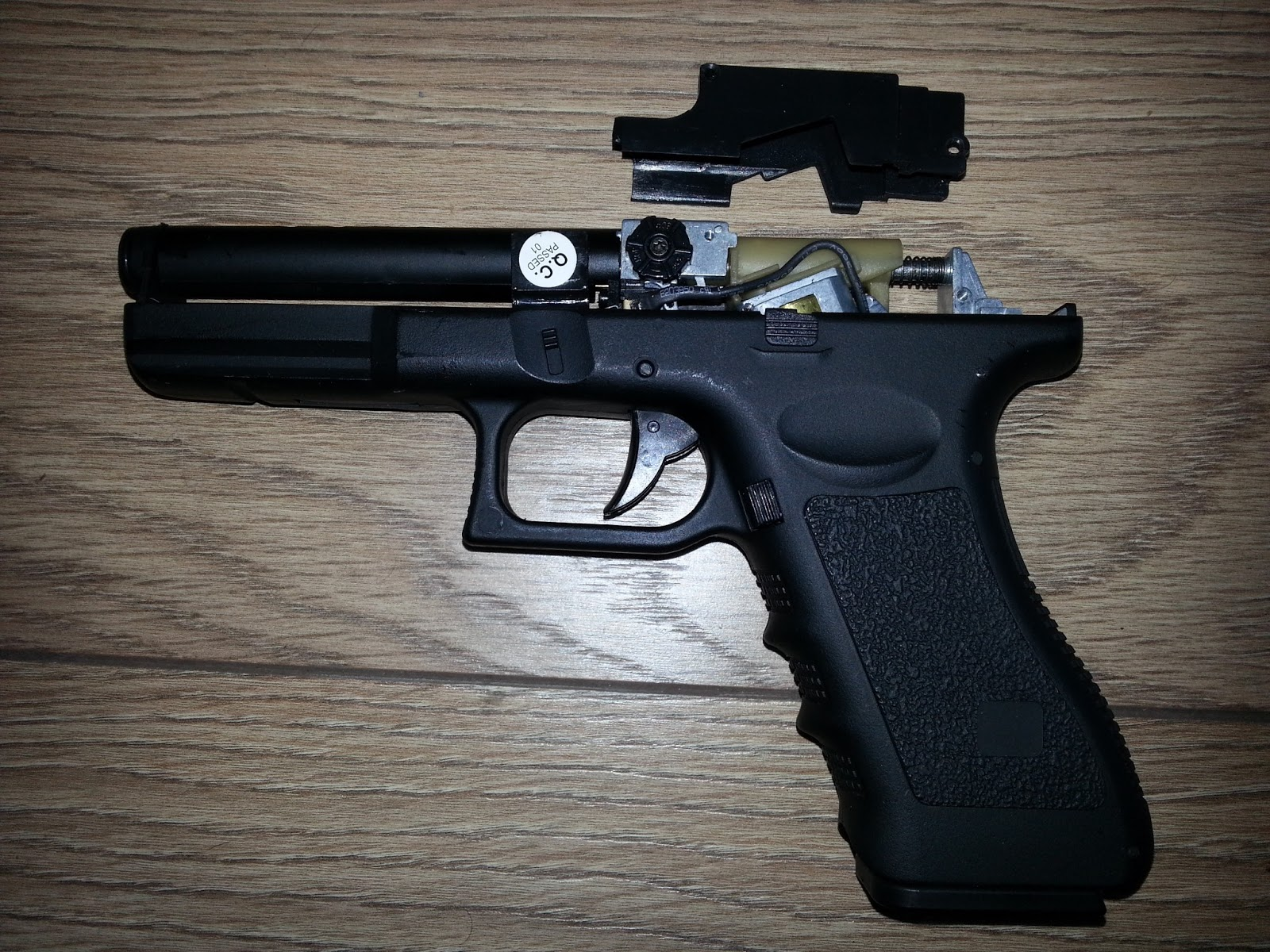 The Crapworks Airsoft Glock 18c Nimh To Lipo Permanent