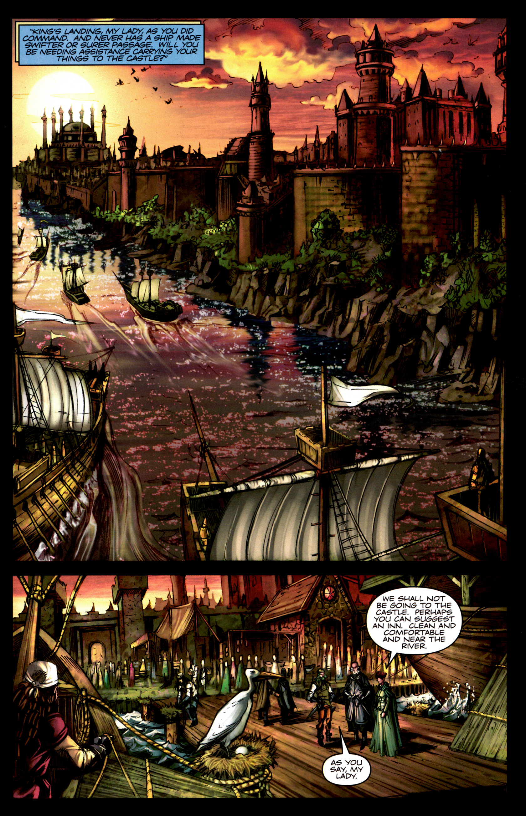 Read online A Game Of Thrones comic -  Issue #5 - 13