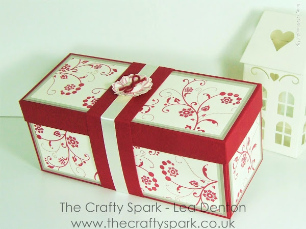 Elegant Presentation Gift Box with Flowering Flourishes from Stampin' Up!