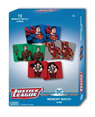 DC Comics Animated Memory Match Game box