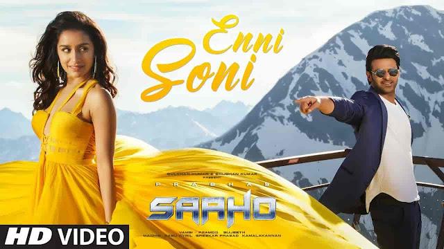 Enni Soni Lyrics - Saaho | Guru Randhawa, Tulsi Kumar