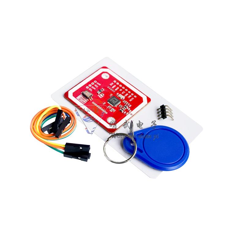 Mini D1 搭配新版PN532 NFC RFID V3 讀取RFID