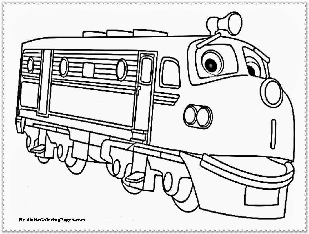 √ Chuggington Coloring Sheets | Wilson Koko and Brewster ...
