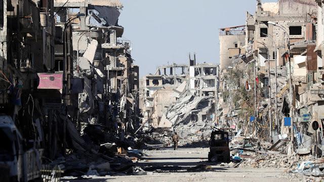 """EE.UU., Francia, Alemania y el Reino Unido no reconstruirán Siria hasta que empiece un """"verdadero proceso político"""""""
