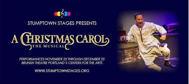 All Things Performing Arts A Christmas Carol The Musical Stumptown Stages Downtown Portland